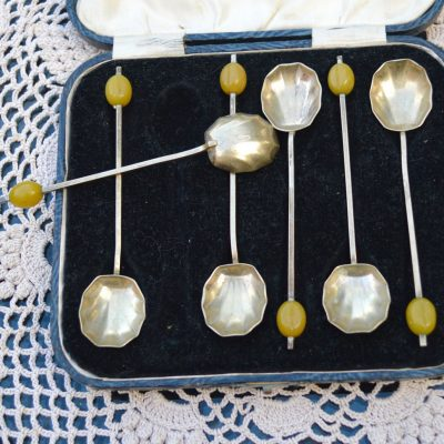 Wickstead's–Home-&-Living–Silver-Coffee-Bean-Demitasse-EPNS-Shell-Tea-Spoons-(3)