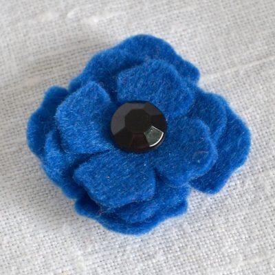 Wickstead's-Mr-Wickstead-Handmade-Blue-Poppy-Boutonnieres-Lapel-&-Tie-Pin-(2)