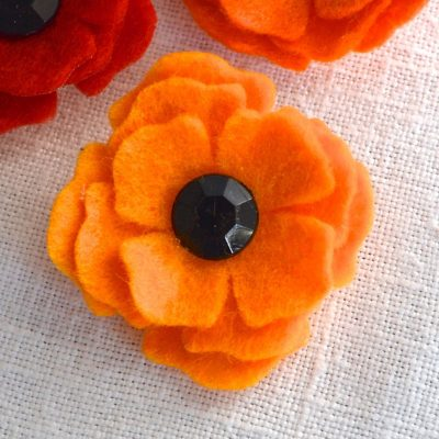 Wickstead's-Mr-Wickstead-Handmade-Light-Orange-Poppy-Boutonnieres-Lapel-&-Tie-Pin-(2)