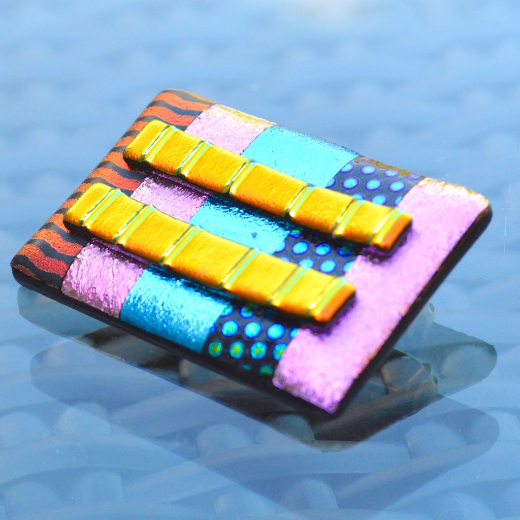 AWD-Large-Dichroic-Brooch-patterned-stripes-&-lines-(4)