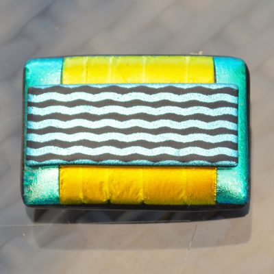 AWD-Large-Dichroic-Brooch-patterned-yellow–aqua–wavy-lines-(1)