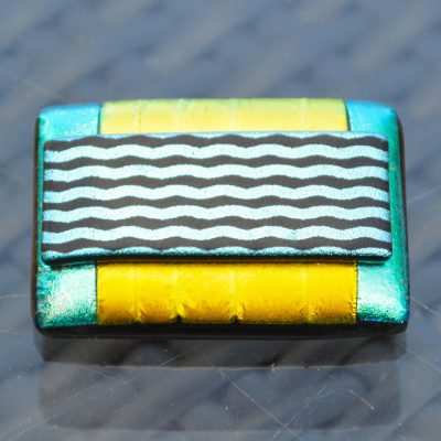 AWD-Large-Dichroic-Brooch-patterned-yellow–aqua–wavy-lines-(3)