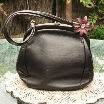 Brown-Leather-Freedex-Handbag-(1)