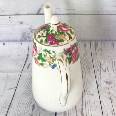 Crown-Staffordshire-Thousand-Flowers-Coffee-Pot-(3)-