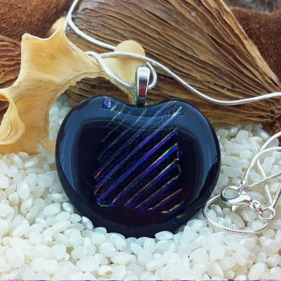 Large-Deep-Plim-with-rainbow-stripes-pendant-on-chain-(1)