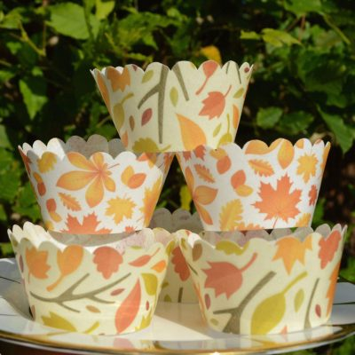 Wickstead's-Eat-Me-100%-Edible-Cupcake-Wrappers-Autumn-Leaves-Chintz-(2)