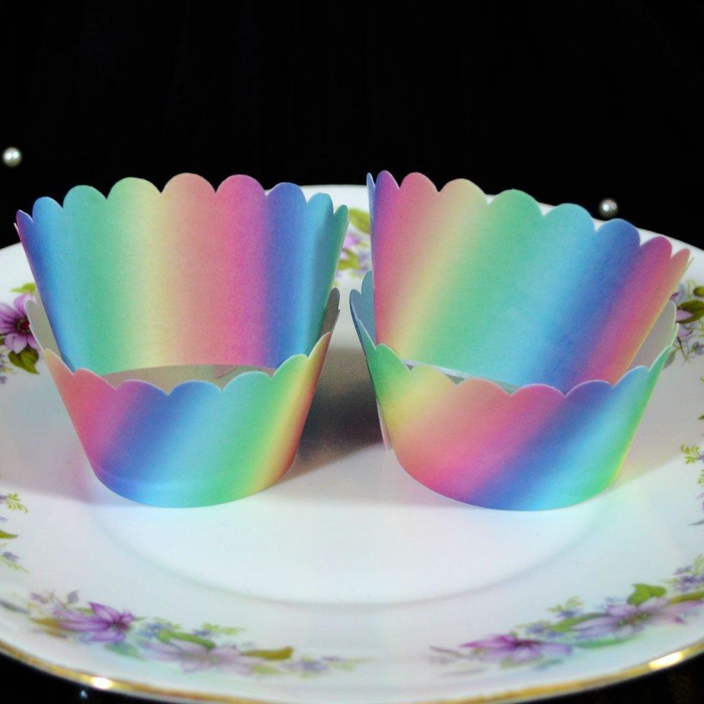 Wickstead's-Eat-Me-100%-Edible-Cupcake-Wrappers-Unicorn-Sherbet-Rainbow-(2)
