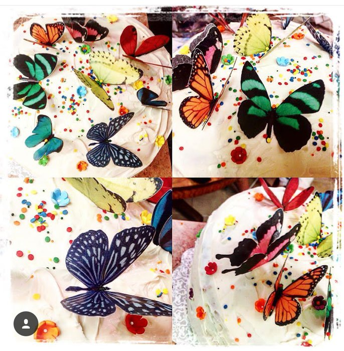 Wickstead's Eat Me Edible Double Sided Butterflies