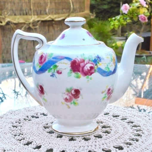 Wicksteads-Home-&-Living-Royal-1930s-Doulton-RoseTime-Small-One-Person-Teapot-(1)-