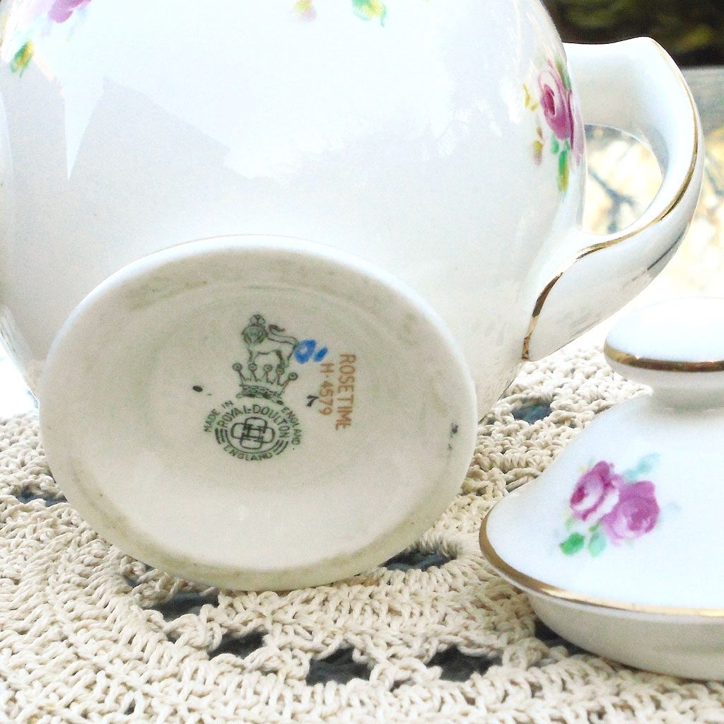 Wicksteads-Home-&-Living-Royal-1930s-Doulton-RoseTime-Small-One-Person-Teapot-(5)-
