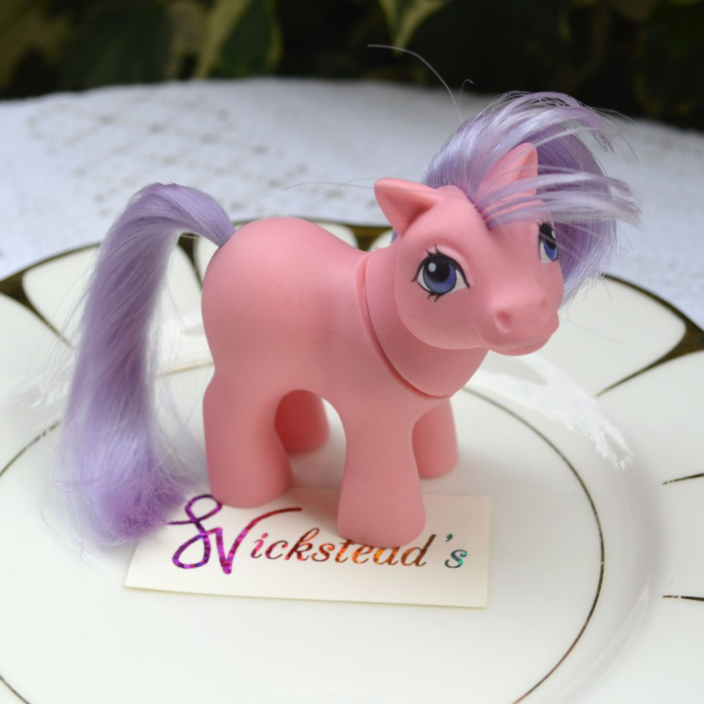 Wickstead's—Home-&-Living—Vintage-My-Little-Pony-Baby-Pink-Ember–G1—1984-(1)