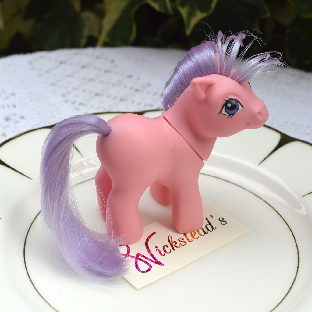 Wickstead's—Home-&-Living—Vintage-My-Little-Pony-Baby-Pink-Ember–G1—1984-(2)