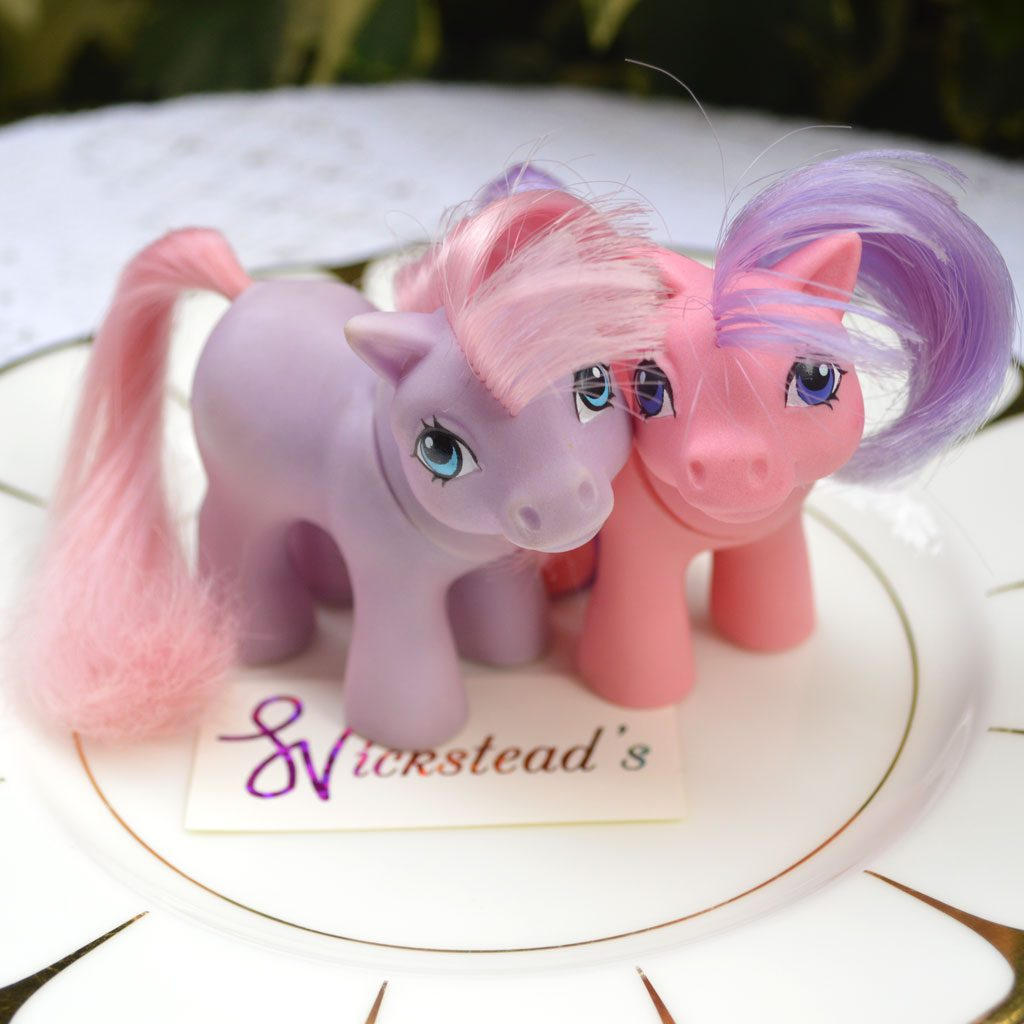 Wickstead's—Home-&-Living—Vintage-My-Little-Pony-Baby-Pink-Ember-Purple-Ember–G1—1984-(1)