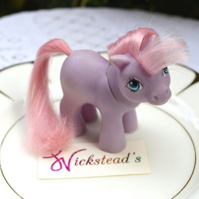 Wickstead's—Home-&-Living—Vintage-My-Little-Pony-Baby-Purple-Ember–G1—1984-(1)