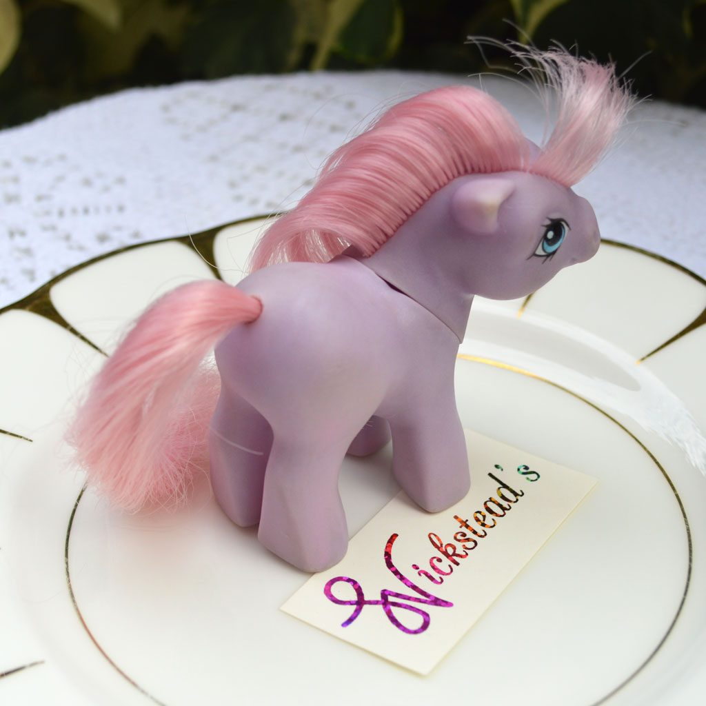 Wickstead's—Home-&-Living—Vintage-My-Little-Pony-Baby-Purple-Ember–G1—1984-(2)