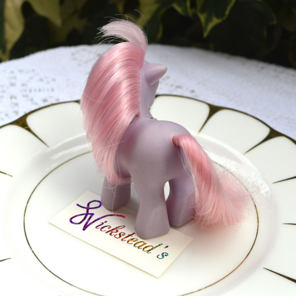 Wickstead's—Home-&-Living—Vintage-My-Little-Pony-Baby-Purple-Ember–G1—1984-(3)