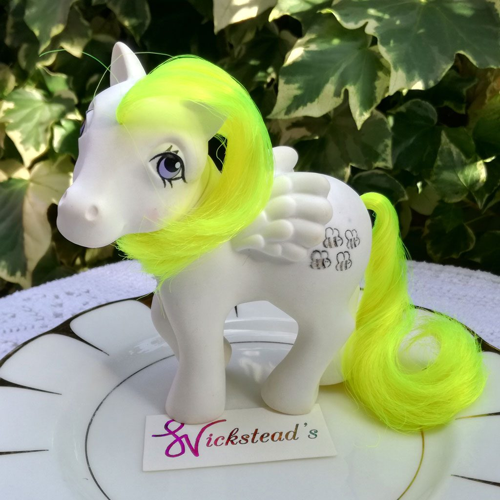 Wickstead's—Home-&-Living—Vintage-My-Little-Pony-Honeycomb-Bumblebee-Pegasus—G1—1984-(2)