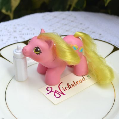 Wickstead's—Home-&-Living—Vintage-My-Little-Pony-Newborn-Baby-Tappy-with-Bottle–G1—1987-(3)