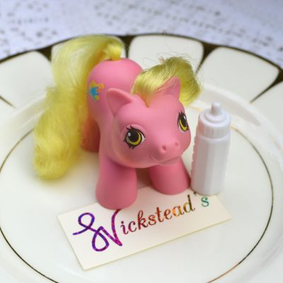 Wickstead's—Home-&-Living—Vintage-My-Little-Pony-Newborn-Baby-Tappy-with-Bottle–G1—1987-(5)