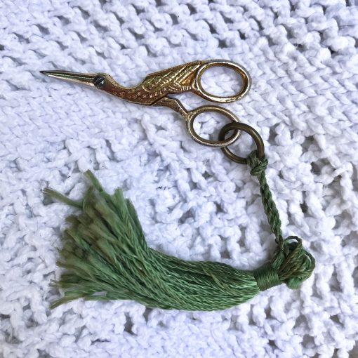 Wicksteads-Jewels-&-Treasures-Antique-Victoran-Miniature-Stork-Scissors—Chatelaine-Thread-Snips-(3)