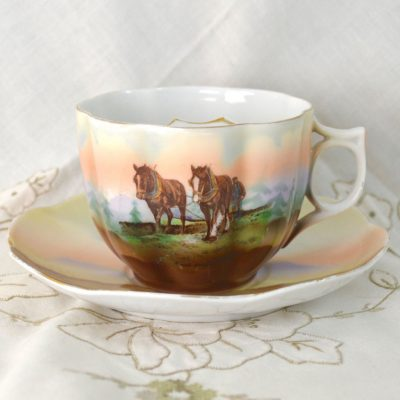 Wickstead's-Mr-Wickstead-Moustache-Cup-and-Saucer-Crown-Victoria-China-Austria—Horses-(1)