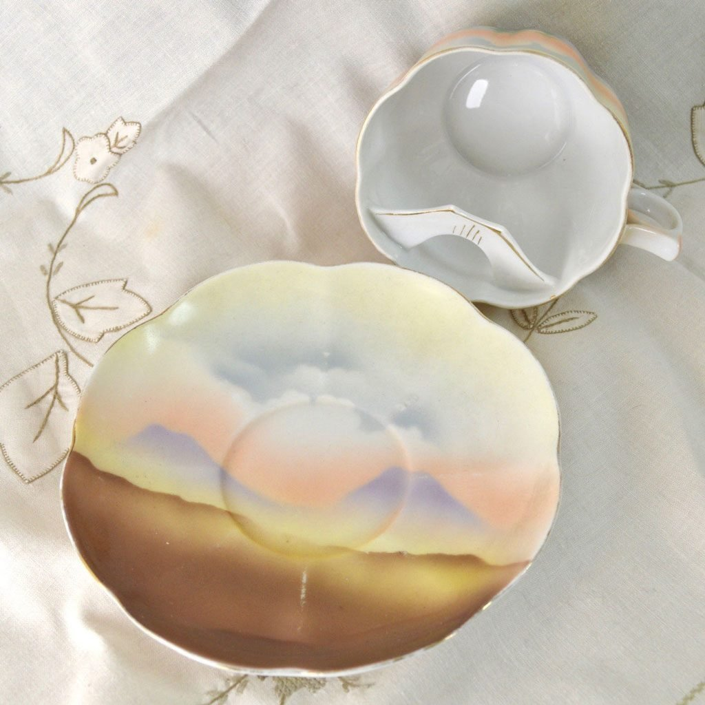 Wickstead's-Mr-Wickstead-Moustache-Cup-and-Saucer-Crown-Victoria-China-Austria—Horses-(5)