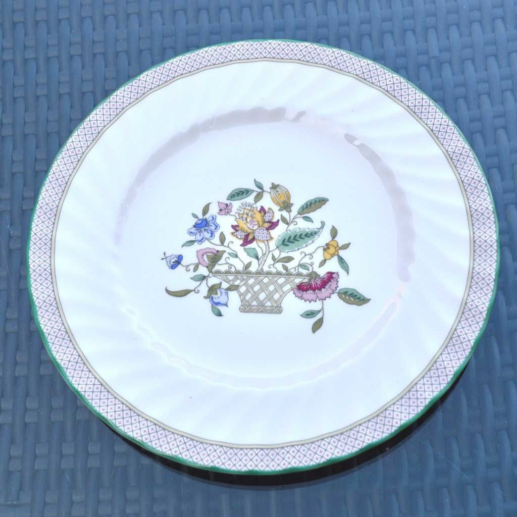 Wicksteads-Home-&-Living-Vintage-Plate-Minton-Haddon-Hall-Trellis–(1)
