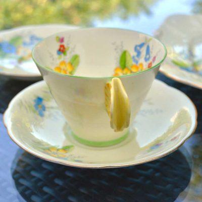 Wicksteads-Home-&-Living-Vintage-Teacup-Saucer-Paragon-Yellow-Primrose-(2)