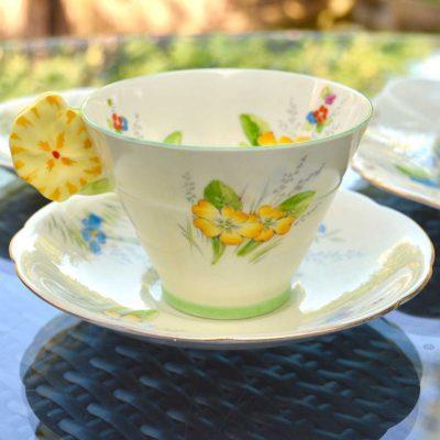 Wicksteads-Home-&-Living-Vintage-Teacup-Saucer-Paragon-Yellow-Primrose-(3)