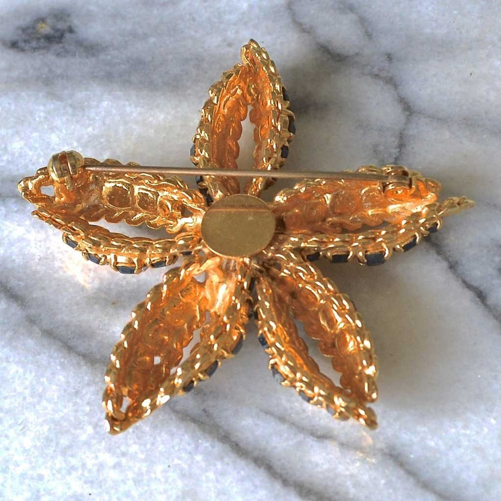 Wicksteads-Jewels-and-Treasures–Vintage-Jewellery-Brooch-Star-Flower-(2)