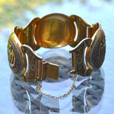 Wicksteads-Jewels-and-Treasures-Vintage-Wide-Damascene-Bracelet-(3)