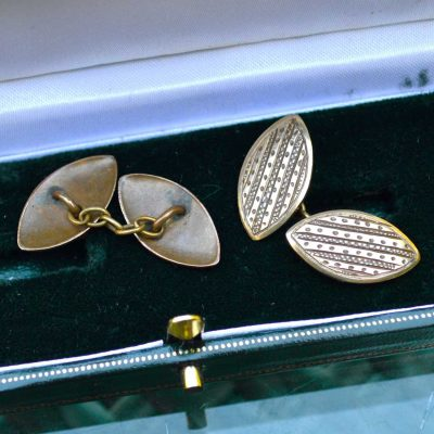 Wickstead's-Mr-Wickstead-Vintage-Gold-Tone-Double-Ended-Chain-Cufflinks-(3)