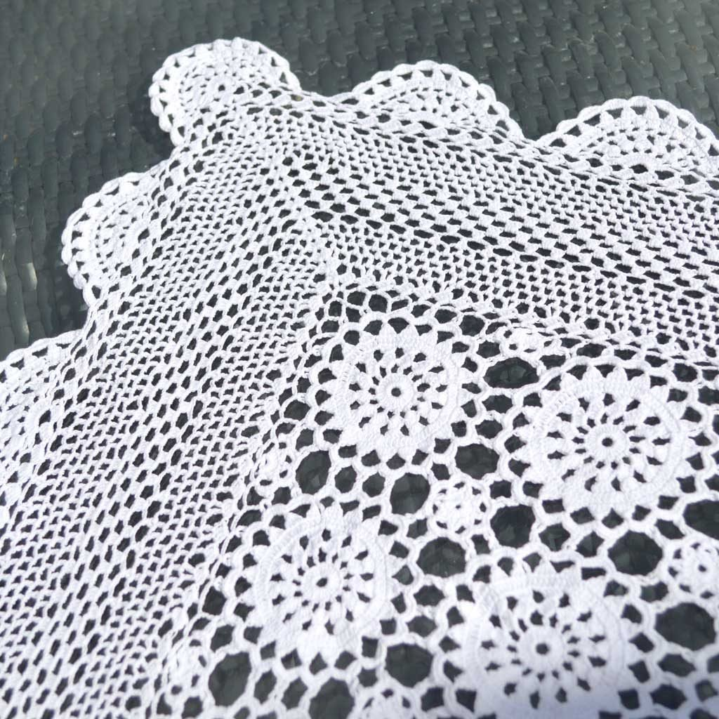 Wickstead's-Home-&-Living-Small-Square-White-Crochet-Tablecloth-(3)