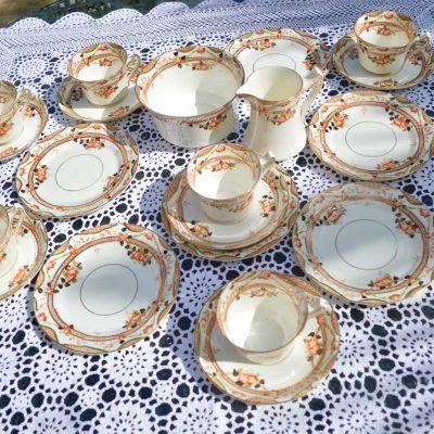 Wickstead's-Home-&-Living-Vintage-Tea-Set-Sutherland-Floral-Imari-1900s–(1)