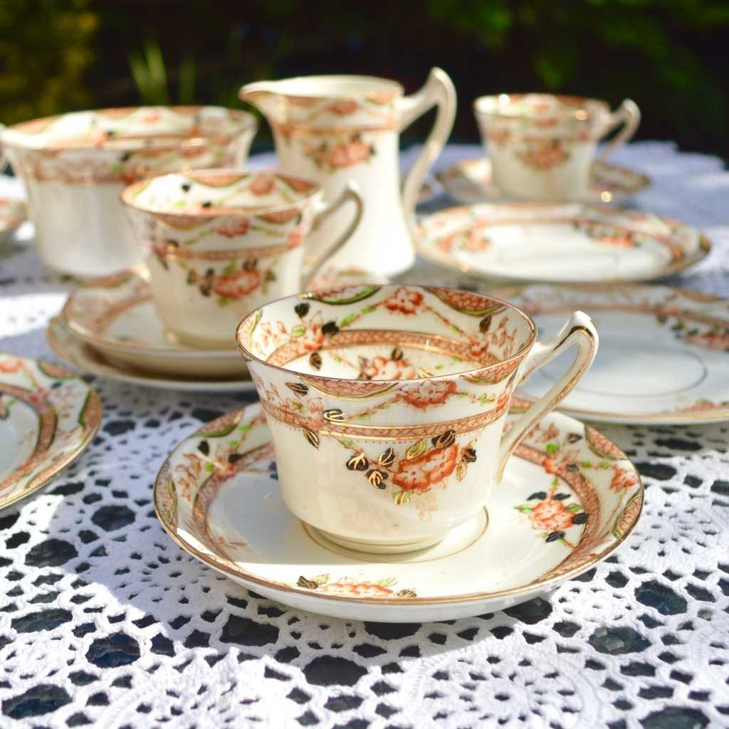 Wickstead's-Home-&-Living-Vintage-Tea-Set-Sutherland-Floral-Imari-1900s–(2)