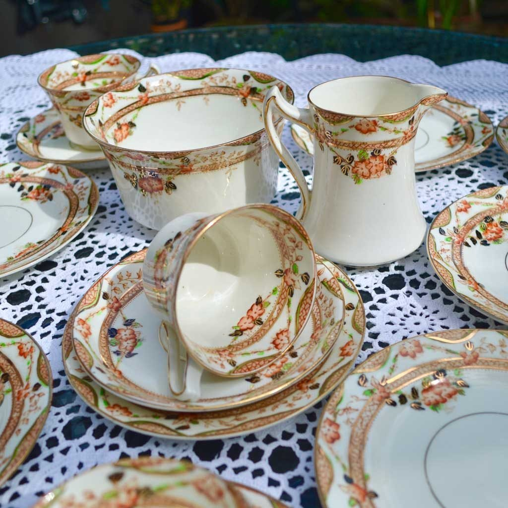Wickstead's-Home-&-Living-Vintage-Tea-Set-Sutherland-Floral-Imari-1900s–(4)