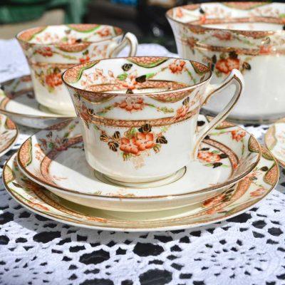 Wickstead's-Home-&-Living-Vintage-Tea-Set-Trio-Sutherland-Floral-Imari-1900s–(1)