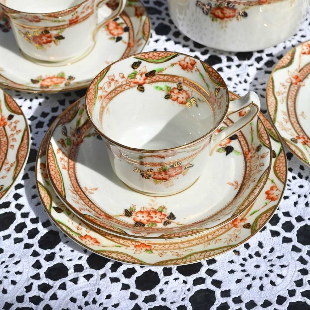 Wickstead's-Home-&-Living-Vintage-Tea-Set-Trio-Sutherland-Floral-Imari-1900s–(2)