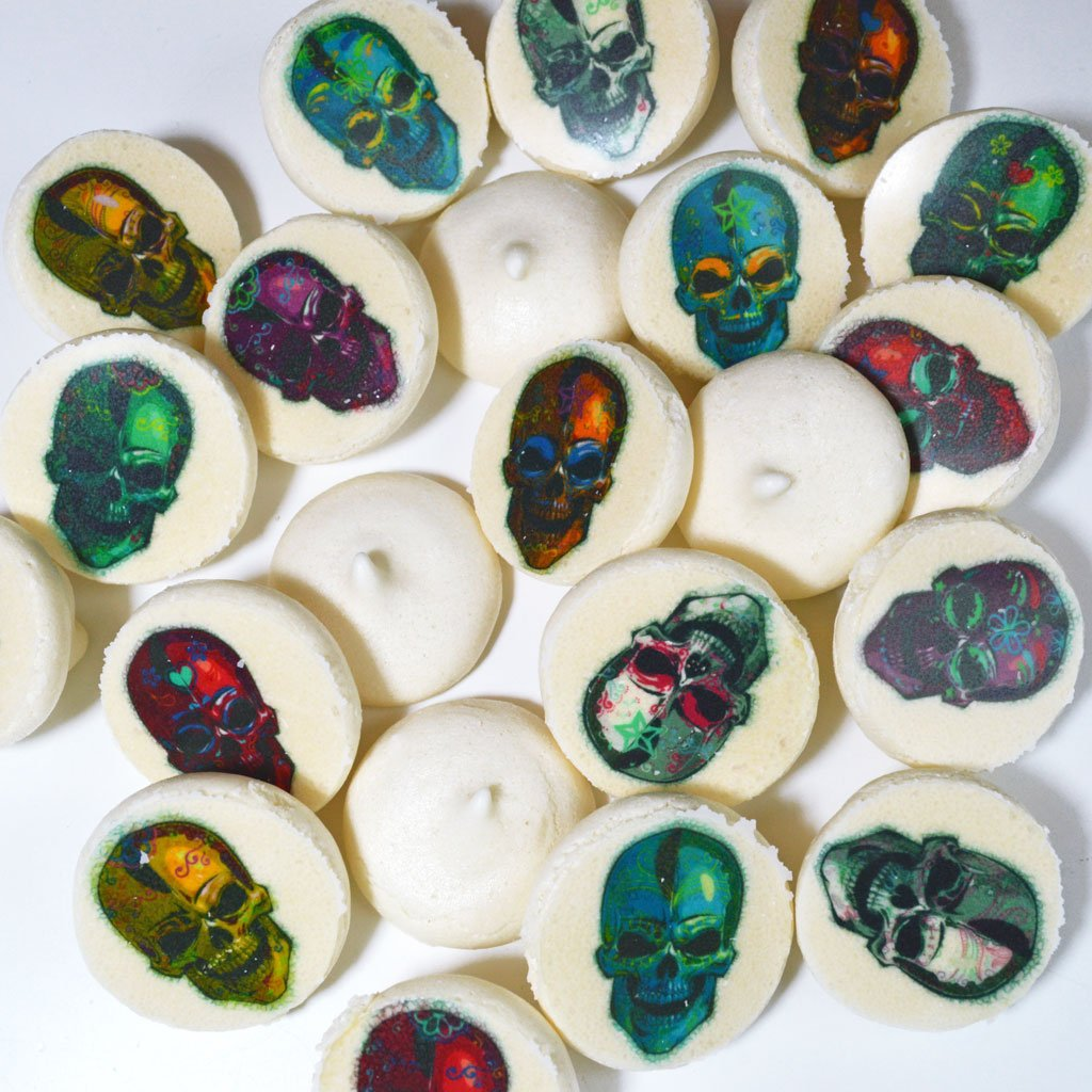 Wickstead's Eat Me Calavera Skulls Meringue Transfer Sheets