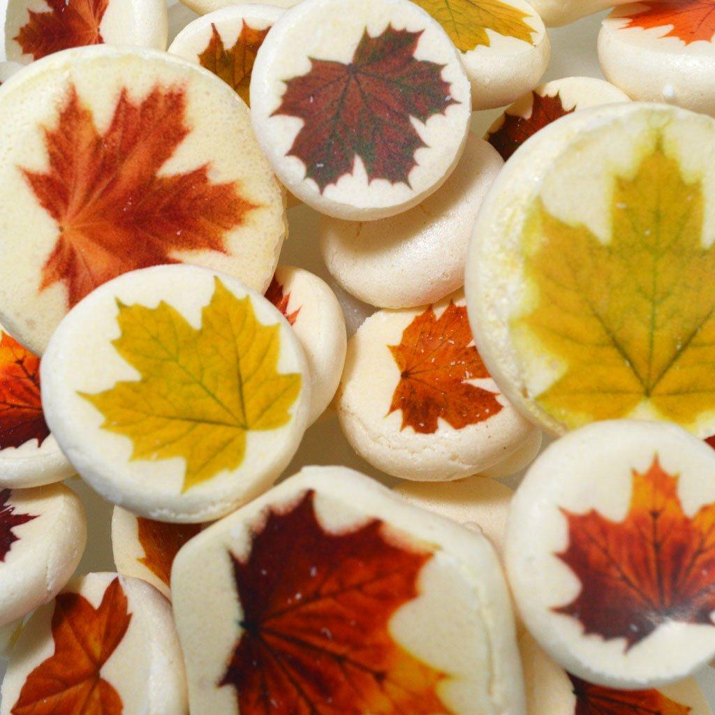 Eat Me Edible Maple Leaves Meringue Transfer Sheets