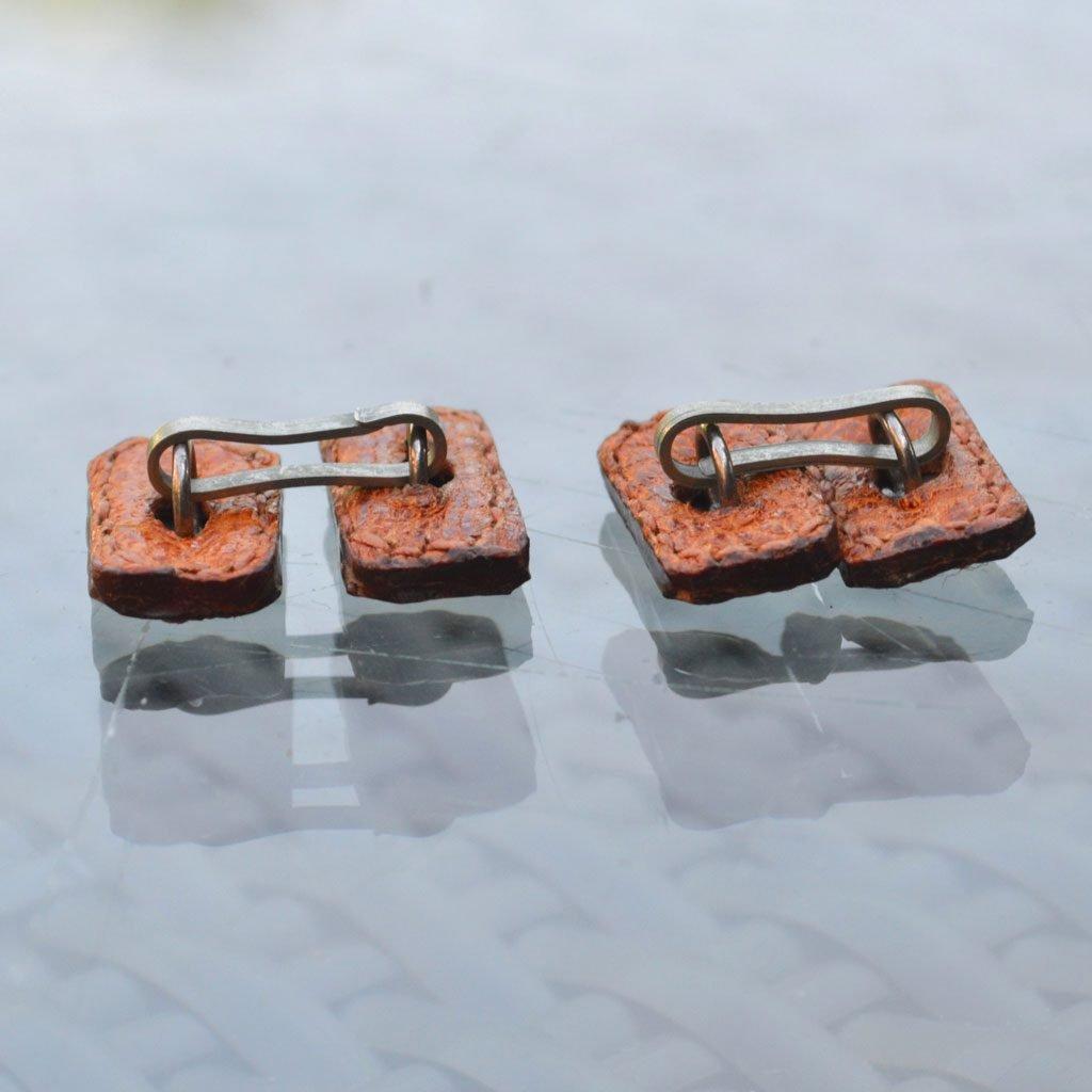 Wickstead's-Mr-Wickstead-Vintage-Cufflinks–Chain-Links-Real-Leather–(3)