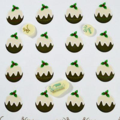 Wickstead's-Eat-Me-Edible-Chocolate-&-Meringue-Transfer-Sheets–Christmas-Puddings