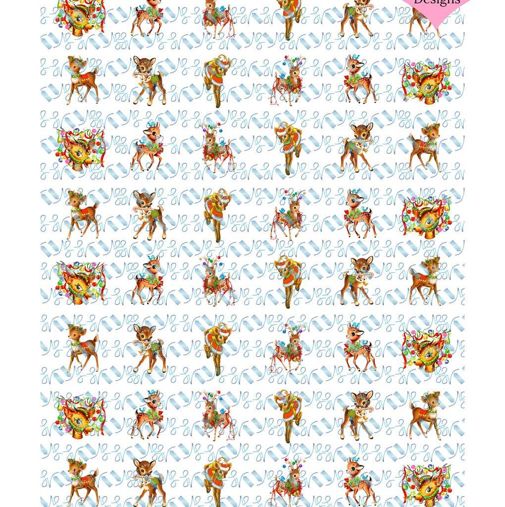 Wickstead's-Eat-Me-Edible-Chocolate-&-Meringue-Transfer-Sheets–Christmas-Reindeer-&-Deers-1