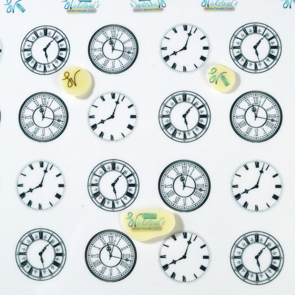 Wickstead's-Eat-Me-Edible-Meringue-&-Chocolate-Transfer-Sheets-Clock-Faces-(1)
