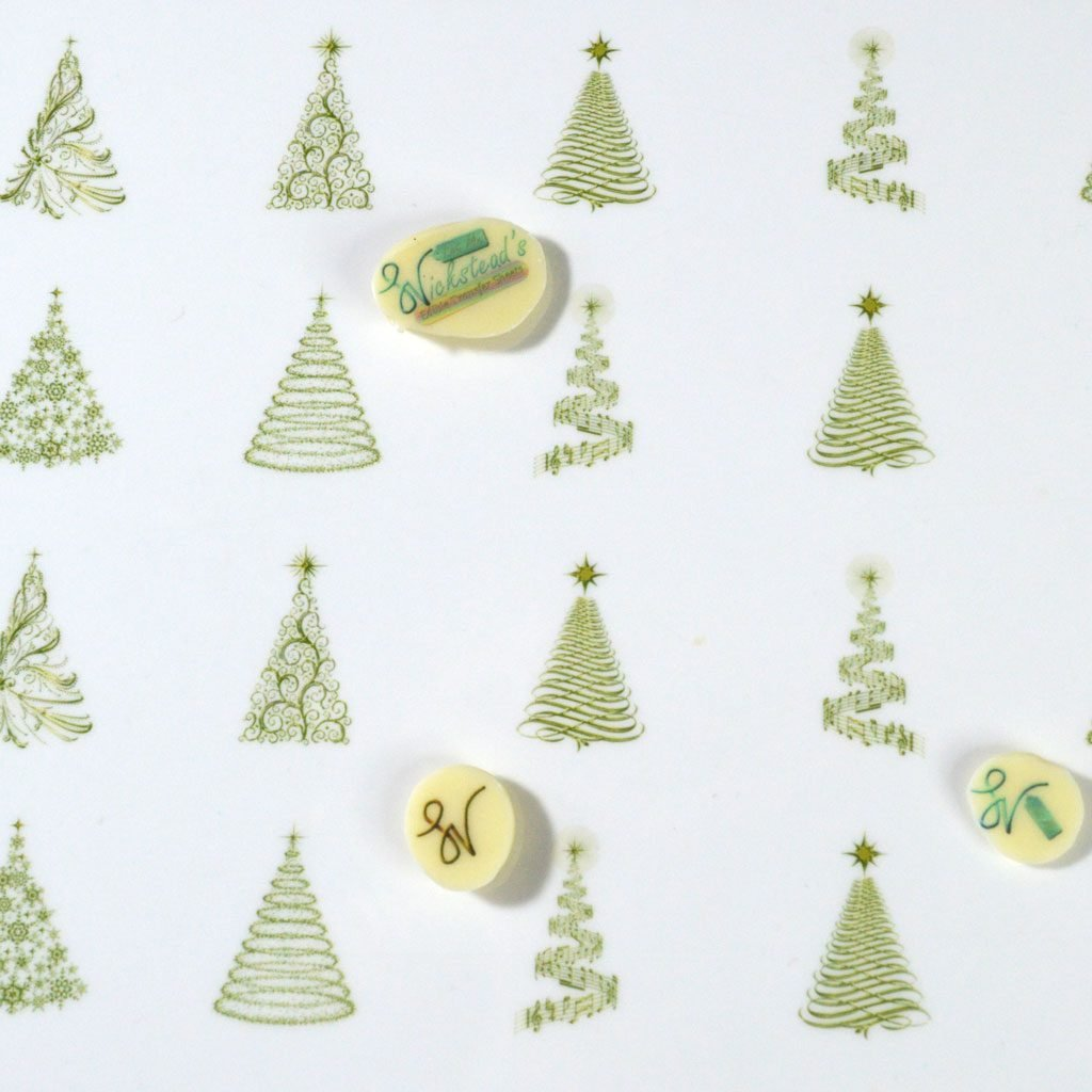 Wickstead's-Eat-Me-Edible-Meringue-&-Chocolate-Transfer-Sheets–Winter-Wonderland-Golden-Christmas-Trees-(1)