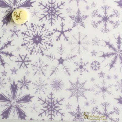 Wickstead's-Eat-Me-Edible-Meringue-&-Chocolate-Transfer-Sheets–Winter-Wonderland-Purple-Frozen-Ice-Snowflakes-Chintz-(1)