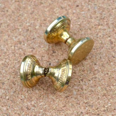 Wickstead's-Mr-Wickstead-Vintage-Cufflinks-Double-Ended-Gold-Retractable-Chain-checkerboard-(1)
