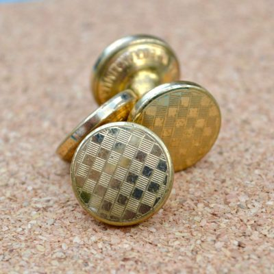 Wickstead's-Mr-Wickstead-Vintage-Cufflinks-Double-Ended-Gold-Retractable-Chain-checkerboard-(3)