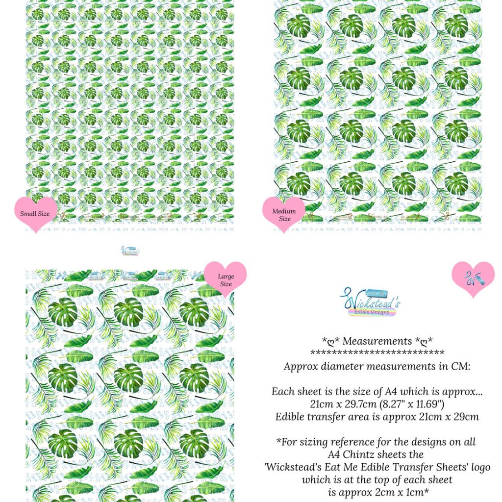 Wickstead's-Eat-Me-Edible-Meringue-Transfer-Sheets–Tropical-Paradise-Leaves-(2)