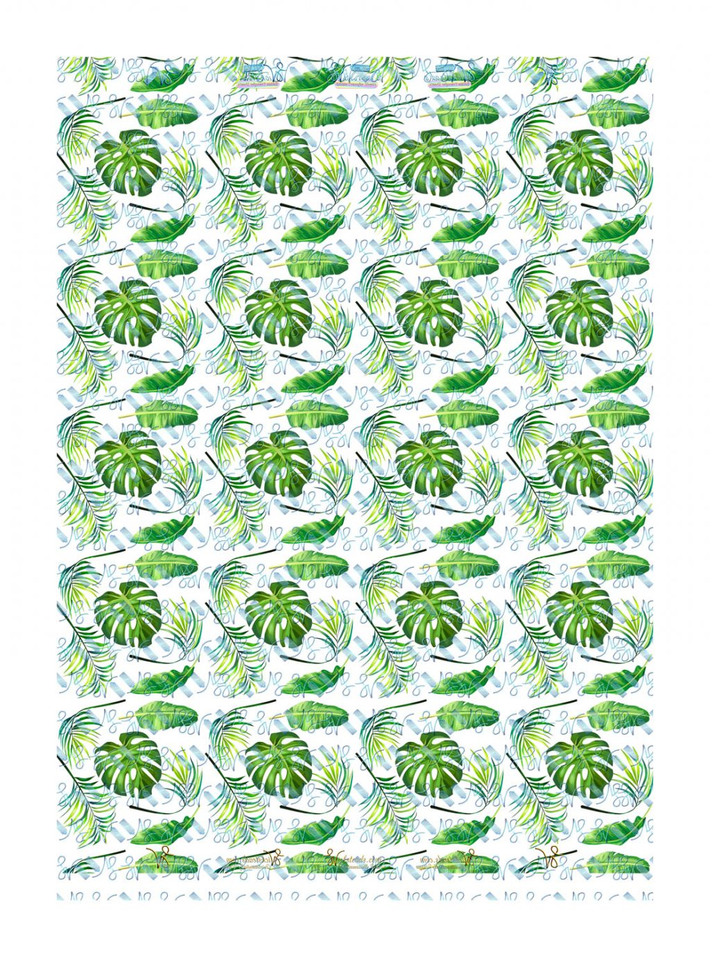 Wickstead's-Eat-Me-Edible-Meringue-Transfer-Sheets–Tropical-Paradise-Leaves-(medium)